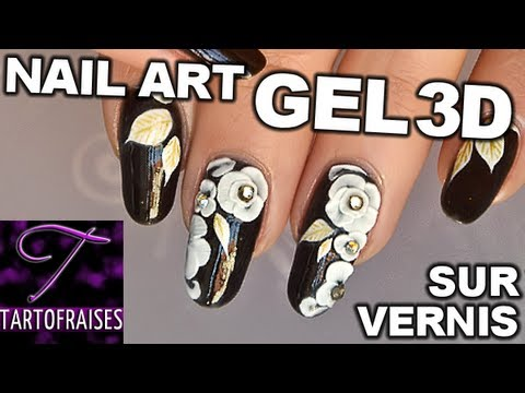 Nail art chic gel 3d