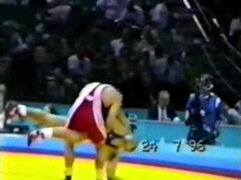 90 кг. Финал. В. Олейник - Я. Фафински (Атланта 1996)