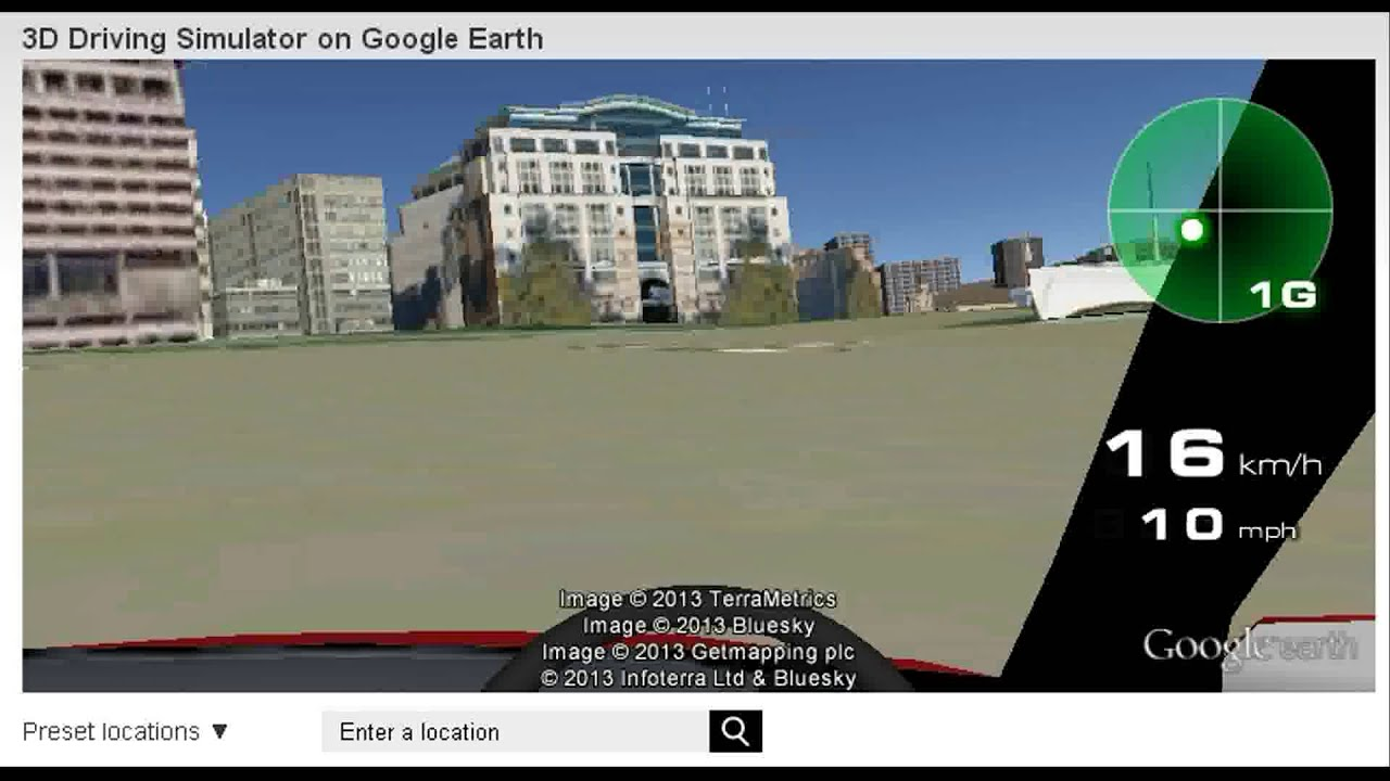 how to show just street in google earth
