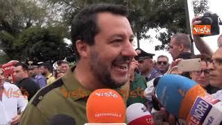 """Sea Watch, Salvini litiga con giornalista: """"Lei fa politica? Ai comizi del PD non rispondo..."""""""
