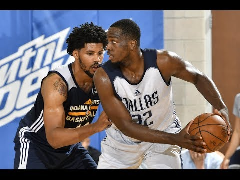 Jameel Warney scored 17 points and Brandon Paul added 16 as the Dallas Mavericks defeated the Indiana Pacers 94-79 in Orlando Summer League action. Subscribe to the NBA: http://bit.ly/2rCglzY...