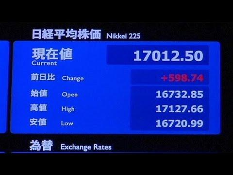 Egekben a japán Nikkei - economy