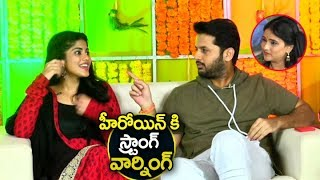 Nithin Cute Warning to Heroine Megha Akash | Chal Mohan Ranga Team Interview | Ugadi special