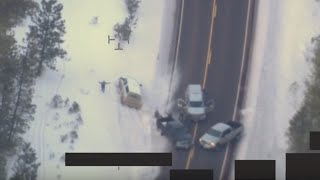 FBI Drone Footage of LaVoy Finicum shooting in Oregon