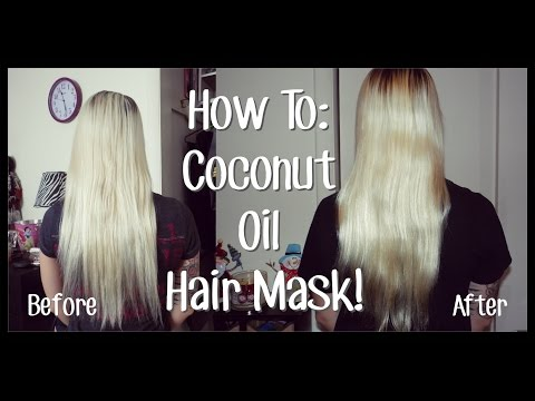 How To: Coconut Oil Hair Mask Tutorial!