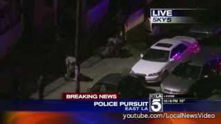 Police Chase - Driving without headlights - June 19, 2013