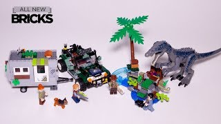 Lego Jurassic World 75935 Baryonyx Face-Off: The Treasure Hunt Speed Build