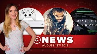 Xbox One S and Scorpio, Deus Ex Go - GS Daily News
