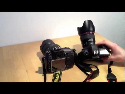 Nikon D800: Auto ISO for low light (vs Canon 5D Mark II)