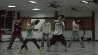 2009/11/18 中央熱舞社社課 Morning Hiphop Jazz