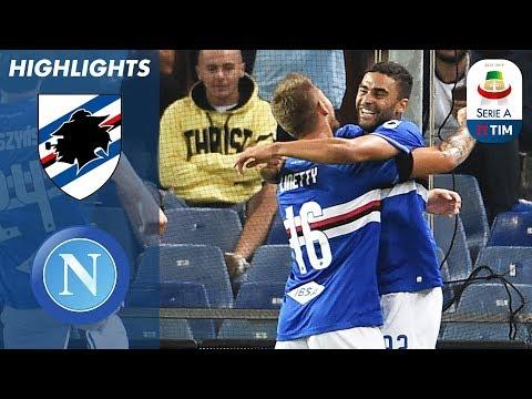 Sampdoria 3-0 Napoli | Sampdoria Gain First Win in Huge Upset! | Serie A