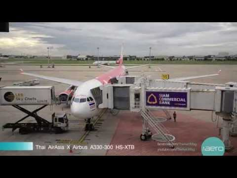 Thai AirAsia X from Bangkok to Seoul flight XJ700 with Business Class Service