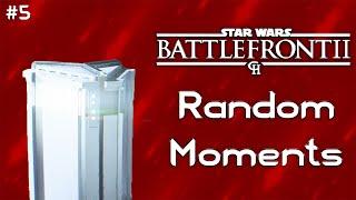 Star Wars Battlefront II - Random Moments 5 - Rainbow Loot Crates