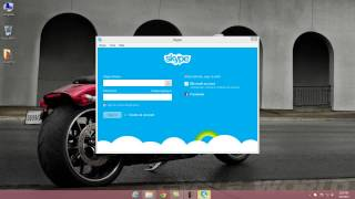 How to login in Skype with non Microsoft Account Windows 8