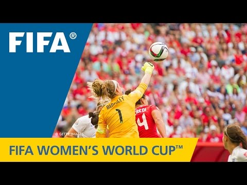 HIGHLIGHTS: England v. Canada - FIFA Women's World Cup 2015
