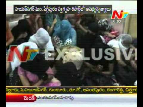Police raid on a Resort @ HYD, vulgar dancing Batch Arrested