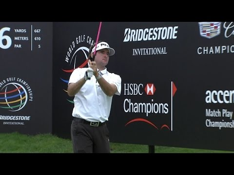 Bubba Watson records 424-yard drive at Bridgestone Invitational
