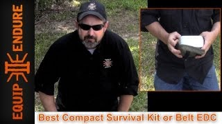 Best Compact Survival Kit or Belt EDC by Equip 2 Endure
