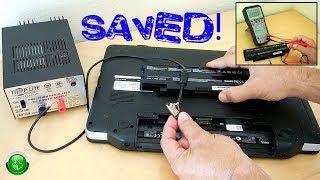 Fried Dell Laptop Power Supply Workaround
