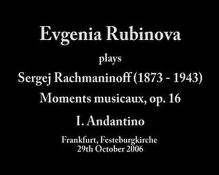 16 Rachmaninov Рахманинов