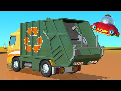 Мультики раскраска про грузовики