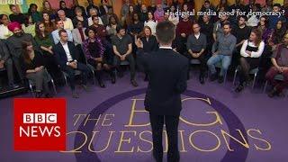 Is digital media good for democracy? BBC News