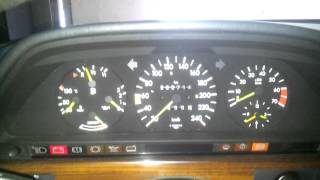 Mercedes-Benz W126 420SE Cold Start