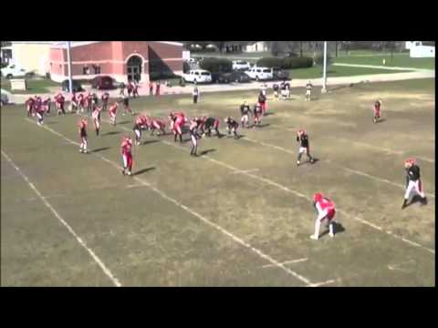 Bivins Caraway III football highlights Navarro College(2015 Juco class)