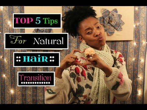 Pixie's Top 5 Tips for Ladies going from Relaxed Permed Hair to Natural Hair ::.