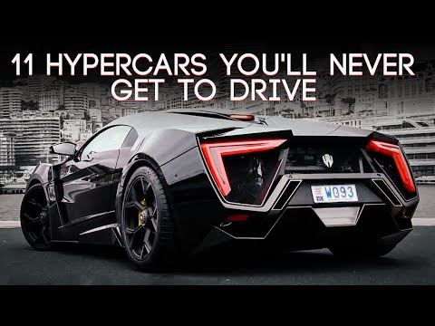 11 Hypercars Youll Never Get To Drive
