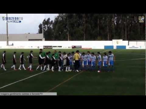 SerzedoTV - Iniciados C.F. Serzedo 3 vs 0 A.C. Bougadense HD