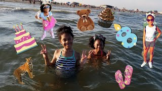 Birthday & beach  ( VLOG ) Ari 🎂🏖👸🏽