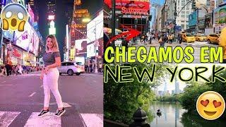 CHEGAMOS EM NEW YORK (CENTRAL PARK, TIMES SQUARE E MAIOR LOJA DE M&M's) ♥ - Bruna Paula