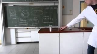Schulvideo zum Thema Wasserstoff (Knallgasprobe, Brennender Schaum, explodierende Dose)