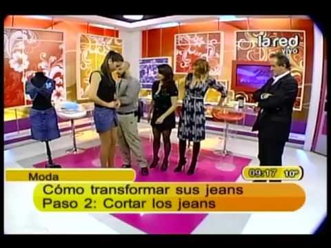 Transforme su jeans en una falda           parte 2