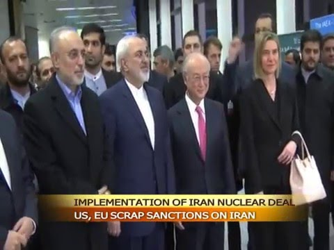 U.S, EU lift sanctions on Iran, after nuclear deal comes into force
