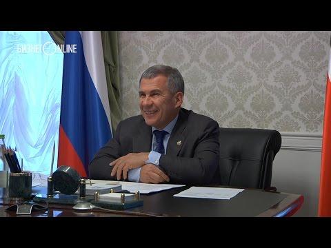 """Минниханов поручил Маганову купить микроавтобус для многодетной семьи сотрудника """"Татнефти"""""""