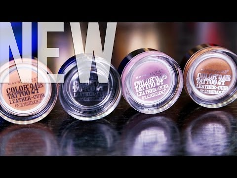 NEW MAYBELLINE LEATHER COLOR TATTOOS | Hot Or Not