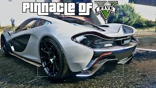 GTA 5 The Pinnacle of V Graphic MOD - World Enhancement Project