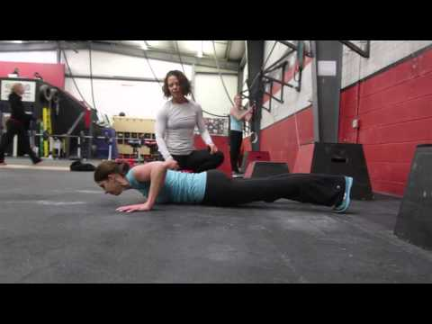 CrossFit - WOD 130106 Demo with CrossFit Flagstaff