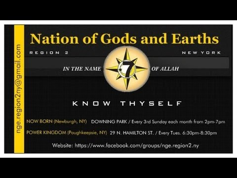 Earth Gods Nation of Gods And Earths in