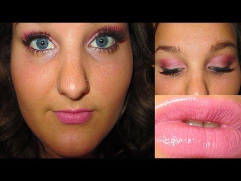 Breast Cancer Awareness Pink Makeup Tutorial