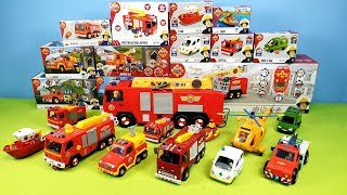 Fireman Sam Unboxing Fire Truck Toys Firefighter Sam Toy Kids Playing Hero Jupiter Fire Station