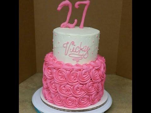 Video 2 Layer Birthday Cake Recipe