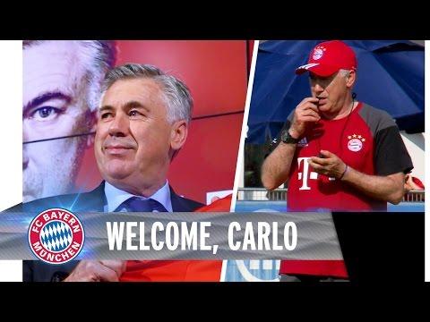 Herzlich Willkommen, Carlo | Sein erster Tag beim FC Bayern