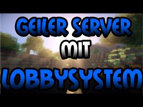 Geiler SERVER mit LOBBY PLUGIN | Minecraft Server Vorstellung 1.8 | Deutsch/German