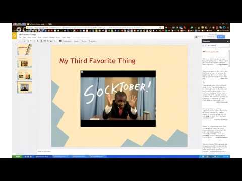 Google Presentation/Slides