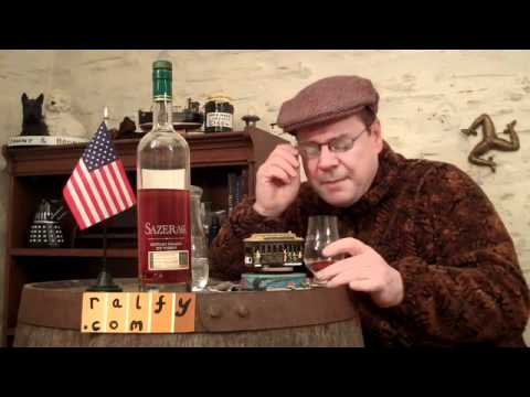 whisky review 165 - Sazerac 18yo Rye (bottled Fall 2009)