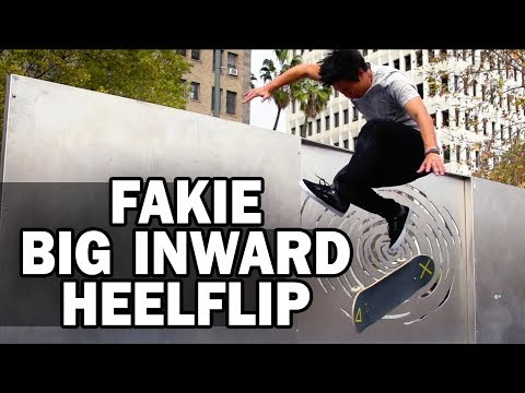 Fakie Big Inward Heelflip: Jason Park || ShortSided