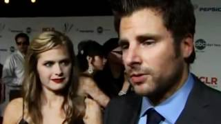 James Roday and Maggie Lawson Chasing Cars
